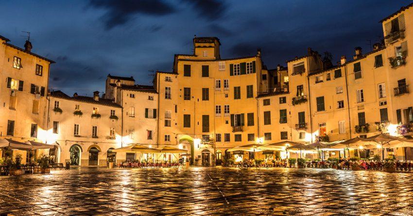 Lucca, den vakreste byen i Toscana