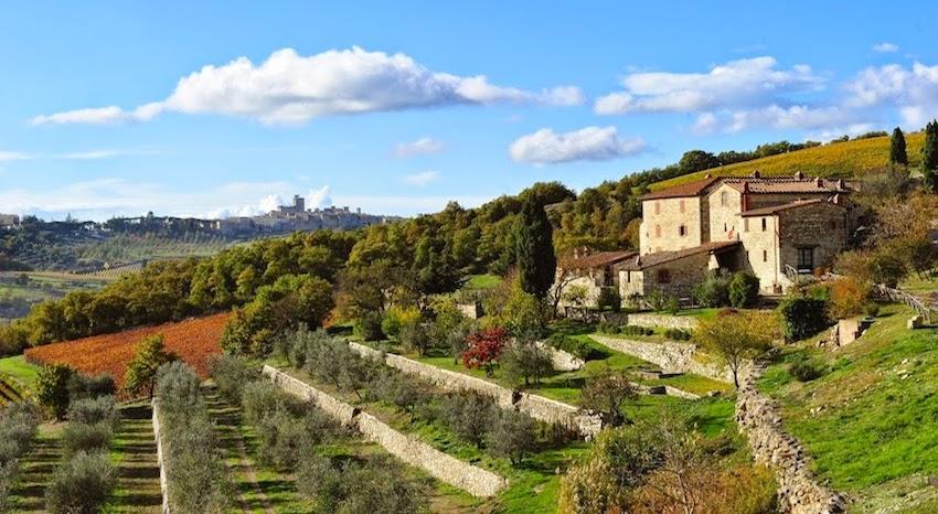 Winefarm in Chanti, feriehus i Italia : Primatoscana