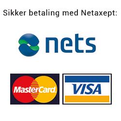 Sikker betaling med Netaxept : Primatoscana