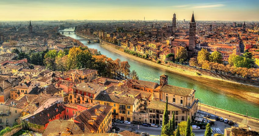 Verona – Roma i miniatyr
