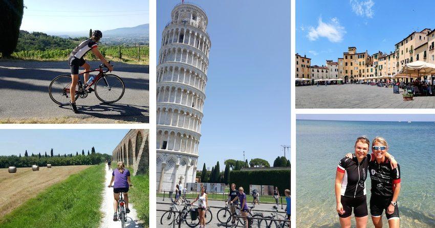 Vær din egen sykkelguide i Toscana!